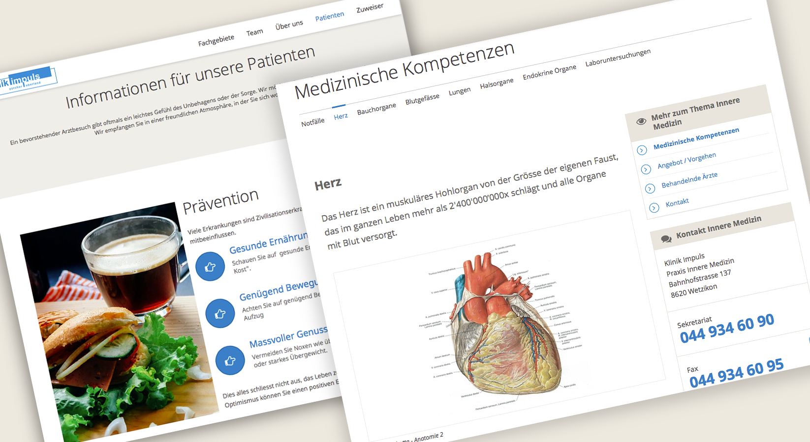 Klinik Impuls – seaio.interactive